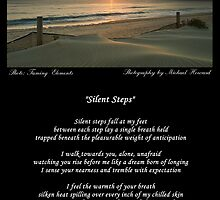 ~ Silent Steps ~ A collaboration with Michael Howard by Donna Keevers Driver