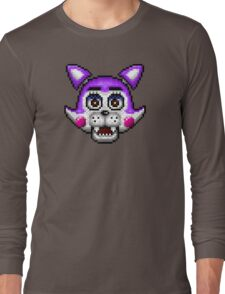 Five Nights at Candy's - Pixel art - Cindy the Kitty Long Sleeve T-Shirt