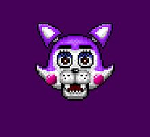 Five Nights at Candy's - Pixel art - Cindy the Kitty by GEEKsomniac
