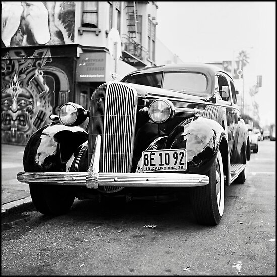Medium Format Photography: 1936 Buick by Patrick T.Power