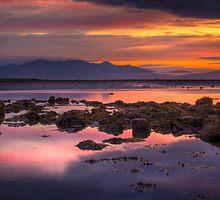 Arran Sunset by Paul Messenger