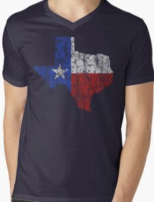 Texas Vintage Mens V-Neck T-Shirt