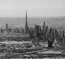 Dubai Aerial by Sebastian Opitz