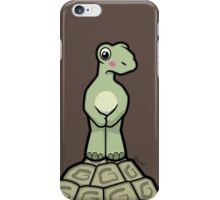 Tort-ally Naked Tortoise iPhone Case/Skin