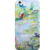 Monet's Water Garden iPhone Case/Skin