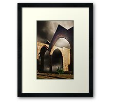 Past and Present 2 Framed Print