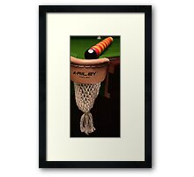 Snookered Framed Print