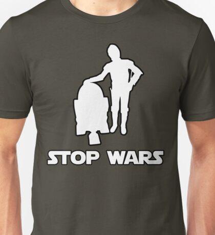 stop wars star wars Unisex T-Shirt