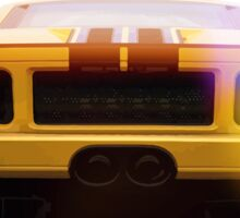 illustration of a classic GT 40 Sticker