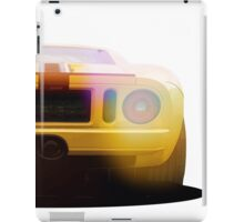 illustration of a classic GT 40 iPad Case/Skin