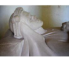 T E Lawrence: his effigy. Photographic Print