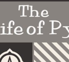 The Life of Py Branded Gear Sticker