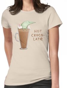 Hot Crocolate Womens Fitted T-Shirt