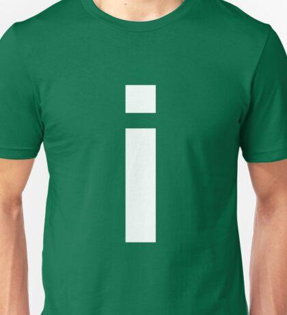 white i Unisex T-Shirt