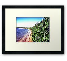 """""""Down to the Waterline"""" Framed Print"""