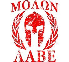 Molon Labe Photographic Print