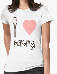 I heart Baking Womens Fitted T-Shirt