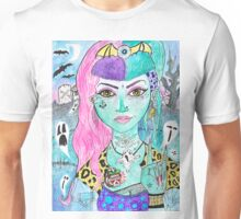 Psychobilly Dead Girl Unisex T-Shirt