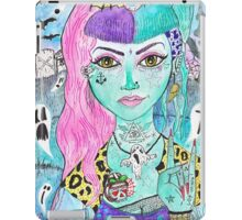 Psychobilly Dead Girl iPad Case/Skin