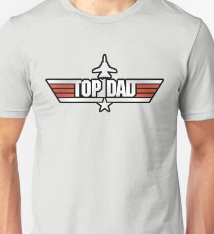 Top Gun style T-Shirt (Top Dad) Unisex T-Shirt