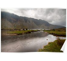 Wastwater Lake Cumbria Poster
