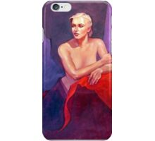 Portrait of Ingrid iPhone Case/Skin