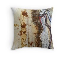 Blind by My Inspirations... Throw Pillow