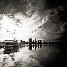 Perth City Skyline by Jill Fisher