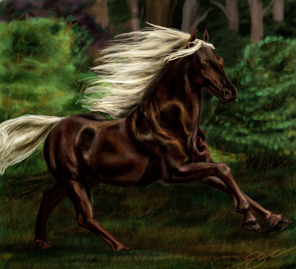 Rocky Mountain Horse by MoparPhoenix