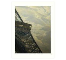 Eiffel Tower -View from Champ de Mars Art Print