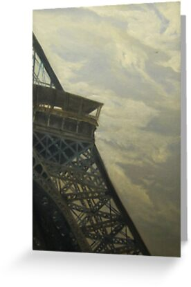 Eiffel Tower -View from Champ de Mars by E.E. Jacks