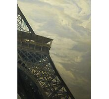 Eiffel Tower -View from Champ de Mars Photographic Print