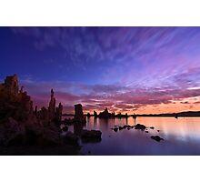 Sunrise at Mono Lake Photographic Print