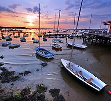 Sunset at Sandbanks by GDMB