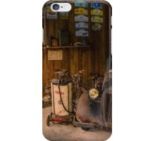 Old garage iPhone Case/Skin
