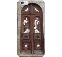 Weathered Wooden Church Door iPhone Case/Skin