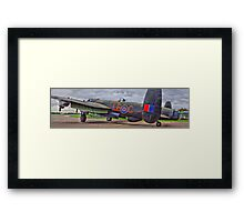 """Just Jane"" Panorama - HDR Framed Print"