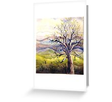 Early Spring Tree Greeting Card