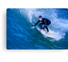 Catch A Wave and You're Sitting on Top of the World Canvas Print
