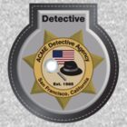 ACME Detective Agency Badge by Christopher Bunye