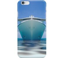 cruise ship IV iPhone Case/Skin