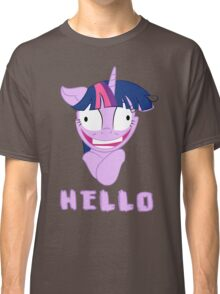 My Little Pony Twilight Sparkle Says Hello Classic T-Shirt