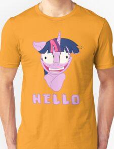 My Little Pony Twilight Sparkle Says Hello Unisex T-Shirt
