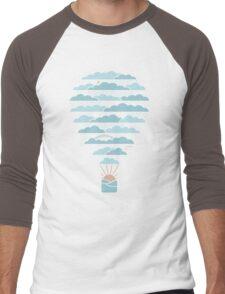 Weather Balloon Men's Baseball ¾ T-Shirt