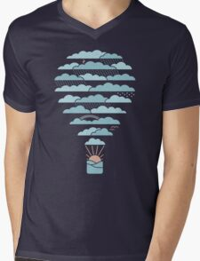 Weather Balloon Mens V-Neck T-Shirt