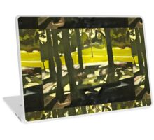 Sunny Park Afternoon  Laptop Skin