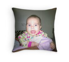 wow! bonkers! Throw Pillow