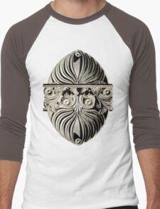 ornate italian scroll face Men's Baseball ¾ T-Shirt