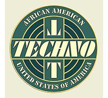 Vintage Techno Music Photographic Print
