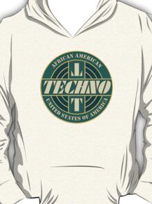 Vintage Techno Music T-Shirt